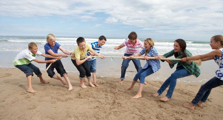 Тематические детские лагеря на Балтийском море в Польше